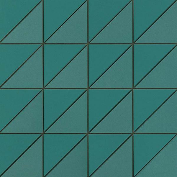 Mosaik Triangle Türkis 30,5x30,5cm