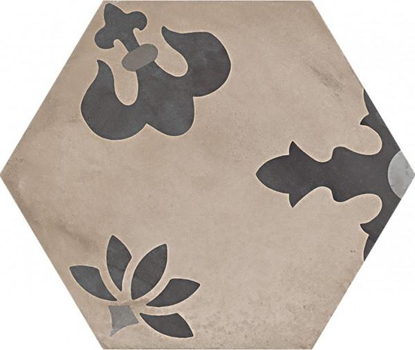 Terra Mix Giglio versF Esagono 25x21,6cm
