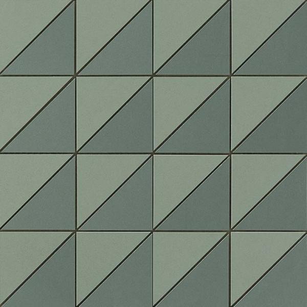 Mosaik Triangle Grün 30,5x30,5cm