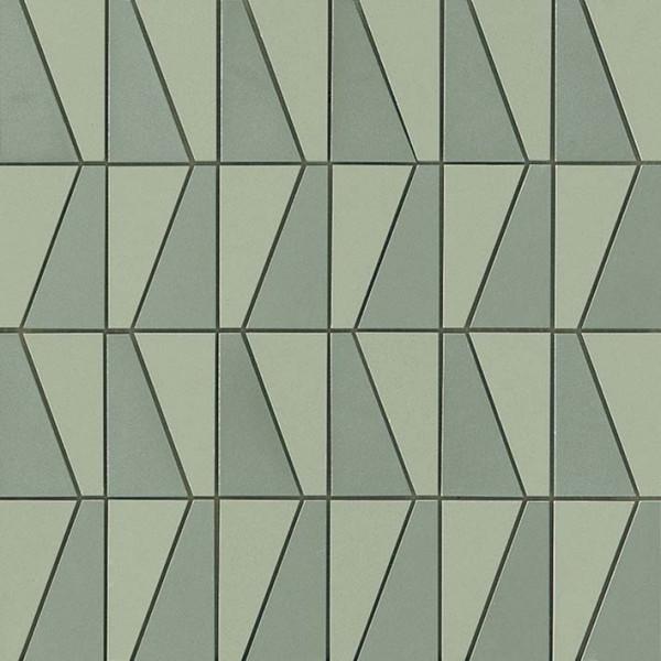 Mosaik Mix Grün 30,5x30,5cm