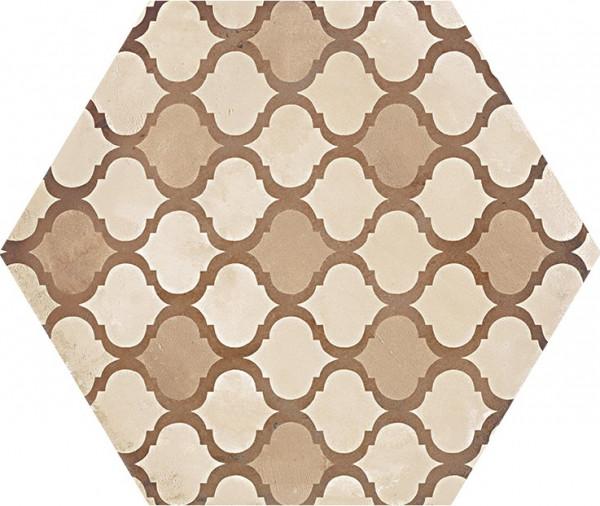 TerraColoniale vers .C Esagono 25x21,6cm