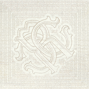 Roberto Cavalli Intarsio Frassino Dekoreinleger 25x25cm