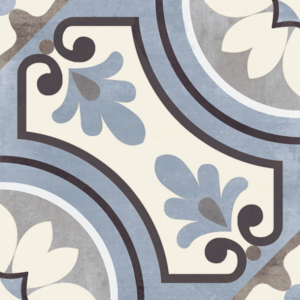 Vintagefliese Saint Germain Blu 20x20 cm