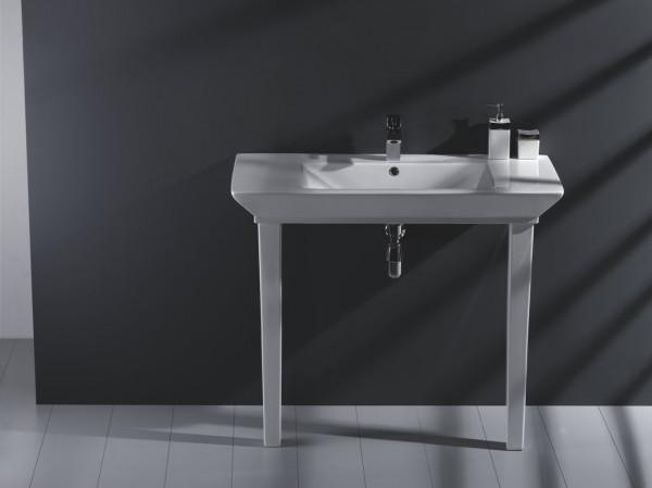 Waschtisch mit Standfuß 100x49cm