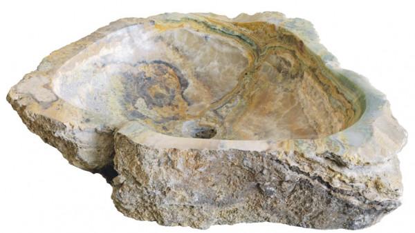 Onyx Natursteinwaschbecken 40cm