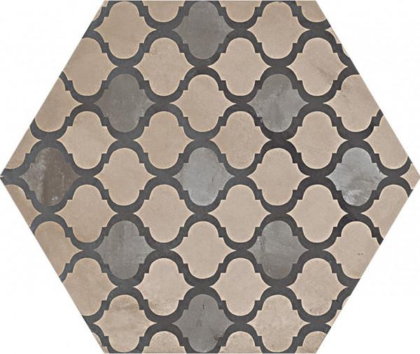 Terra Coloniale vers .F Esagono 25x21,6cm