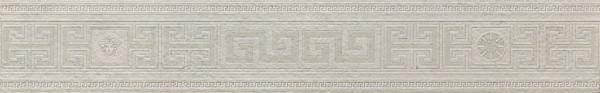 Versace Greek Bordüre bianco 12,5x80cm