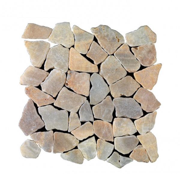 Marmorbruch Mosaik onyx 30x30cm