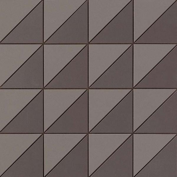 Mosaik Triangle Grau 30,5x30,5cm