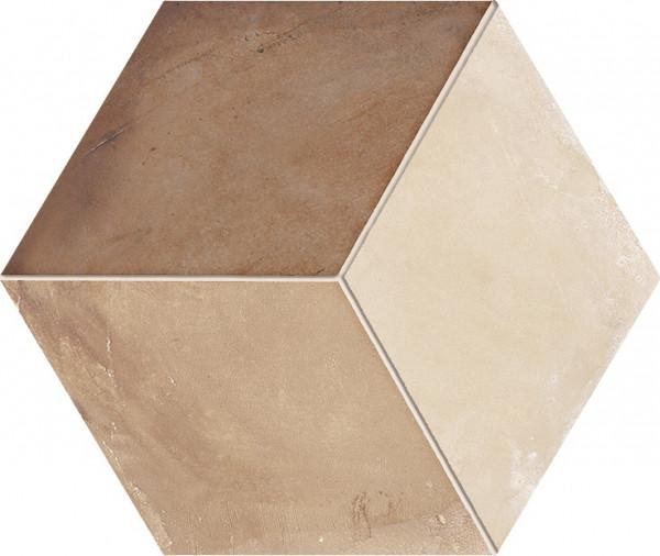 Terra Rombo vers.C Esagono 25x21,6cm