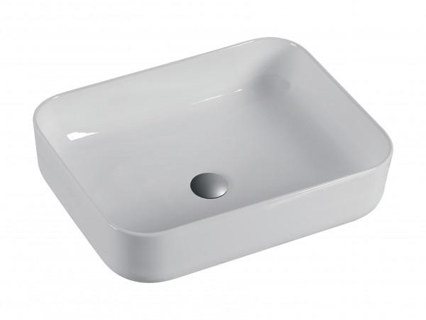 Keramikwaschbecken weiß 51x40 cm