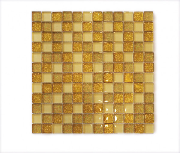 Tulip Glasmosaik Oro Mix 30x30cm