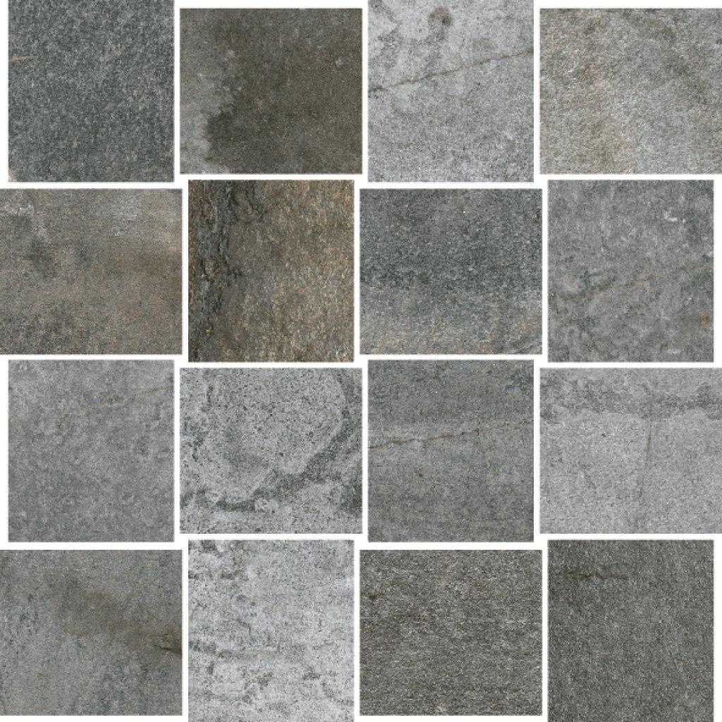 Steinoptik Stonegrey Mosaik 30x30cm Mosaike