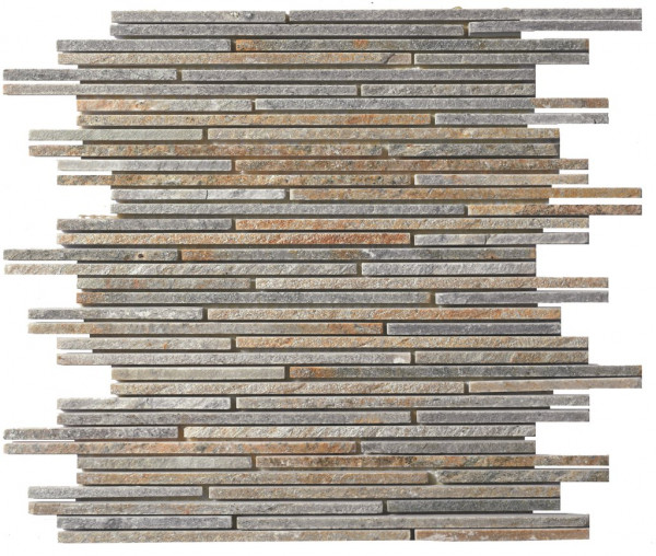 Wandverblender Naturstein Mosaik Tas 30x30cm