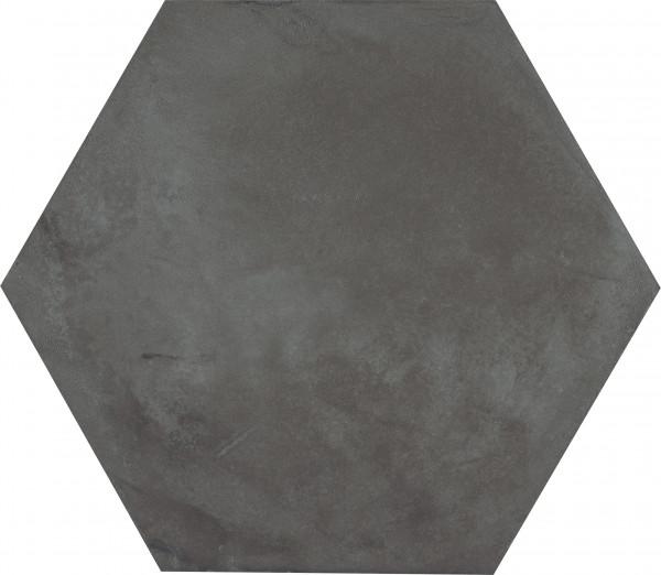 Terra Nero Sechseck 25x21,6cm
