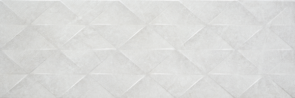 Steinoptik Relief White 40x120 cm