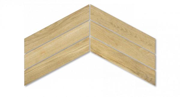 NIP Holzoptik Fischgrät Honig 7,5x40,7 cm