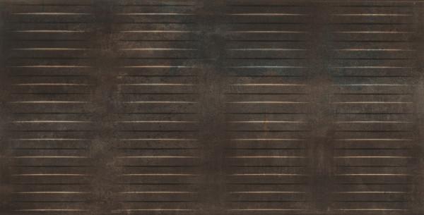Dekorfliese in Metalloptik Bronzo 60x120cm