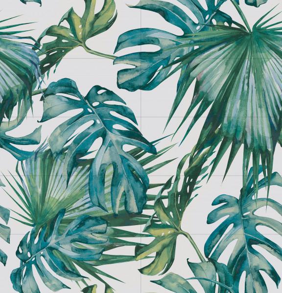 Tropical Dekorfliesenset 10-Teilig 120x125 cm