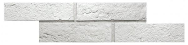 Wandverkleidung Ziegeloptik White 6x25cm