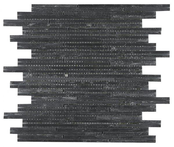 Wandverblender Naturstein Mosaik Rec 30x30cm
