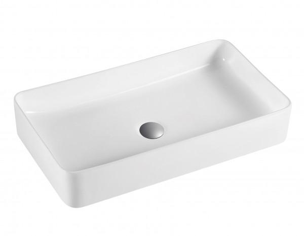 Keramikwaschbecken weiß 61x31 cm
