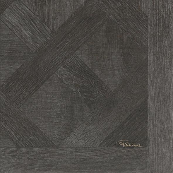 Roberto Cavalli Versailles Ebano Signatur Dekor Lappato 50x50cm