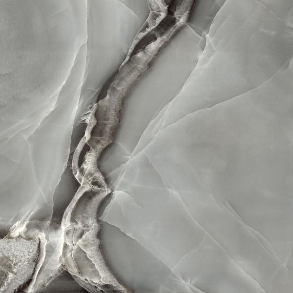 Marmoroptik Dark Grey 90x90 cm
