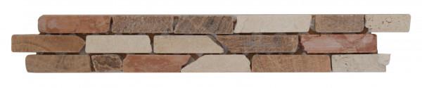 Marmor-Bordüre Ziegel 5x30,5 cm