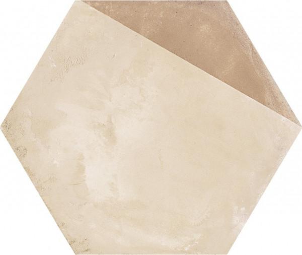 Terra Porzione vers.C Esagono 25x21,6cm