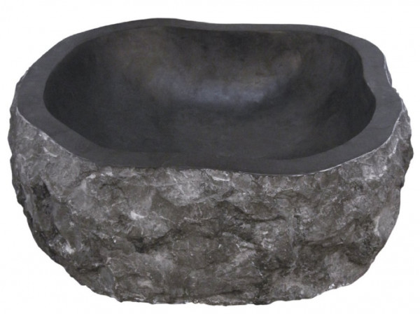 Marmor Waschtisch Stone Schwarz
