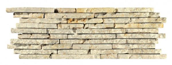 Wandverblender Naturstein Bianco 15x45cm