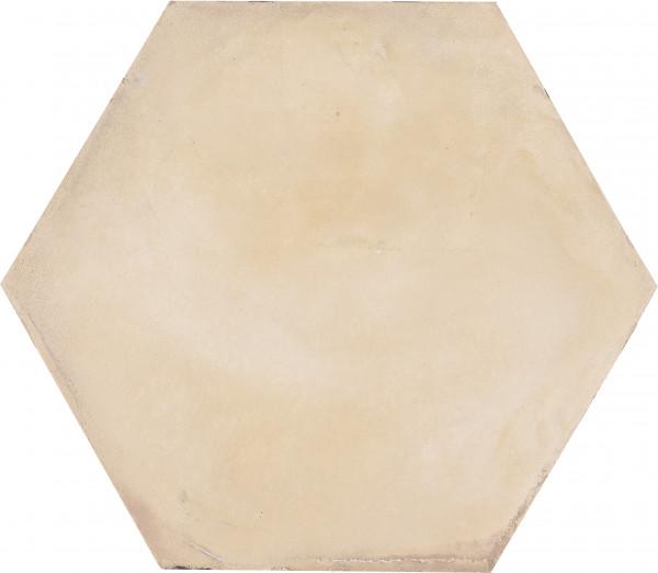 Terra Avorio Sechseck 25x21,6cm
