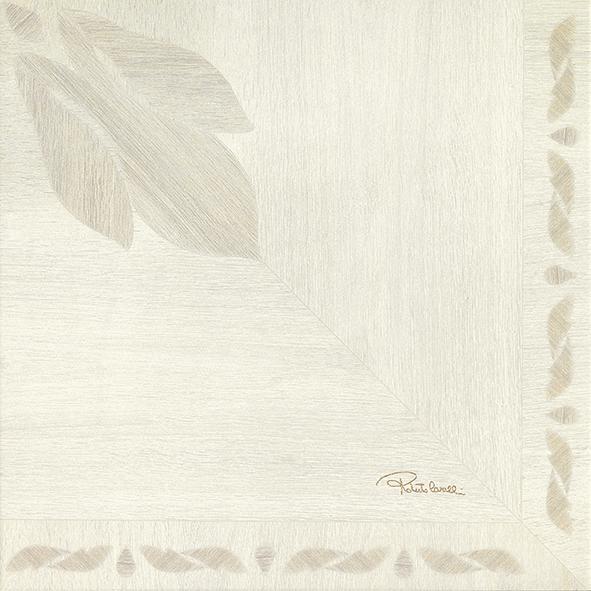 Roberto Cavalli Florale Larice Signatur Dekor Naturale 50x50cm