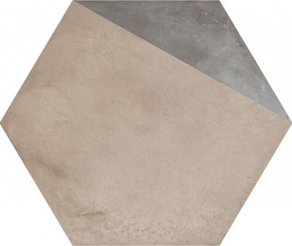 Terra Porzione vers.F Esagono 25x21,6cm