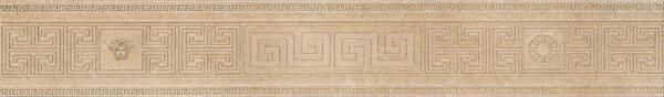 Versace Greek Bordüre beige 12,5x80cm