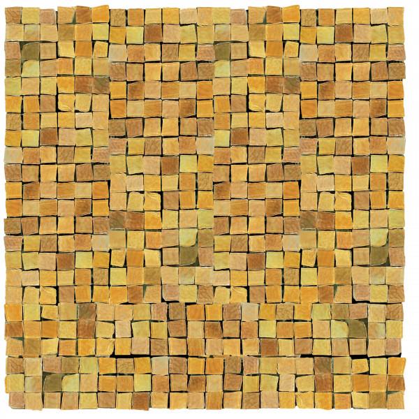 Rustikaloptik Mosaik Gelb 30x30cm