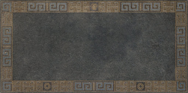 Versace Greek Dekor Rivestmento Oro 40x40cm