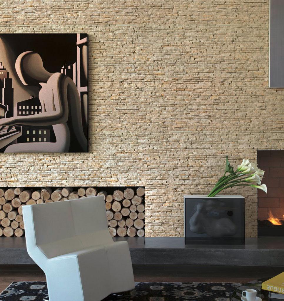 Wandverblender naturstein nero 15x45cm wand und for Wandverblender naturstein