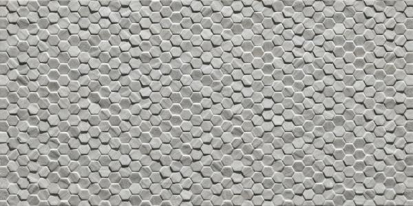Geostone Esagonetta Grigio 30x60cm