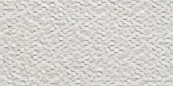 Geostone Esagonetta Bianco 30x60cm