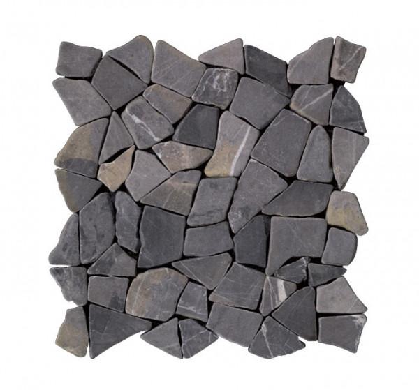 Marmorbruch Mosaik nero 30x30cm