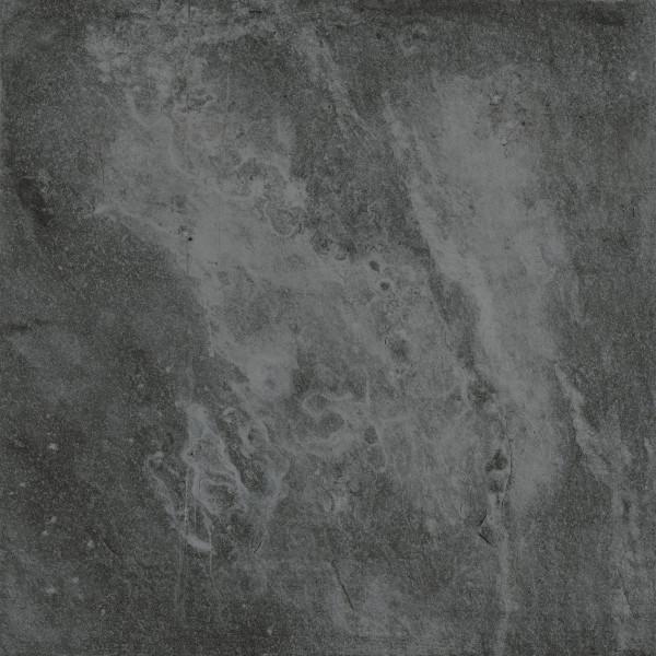 2cm Outdoor Stone Black 80x80cm rektifiziert