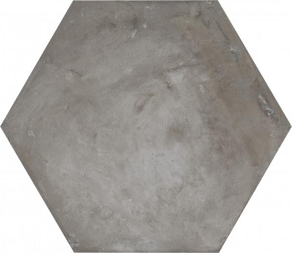 Terra Antracite Sechseck 25x21,6cm