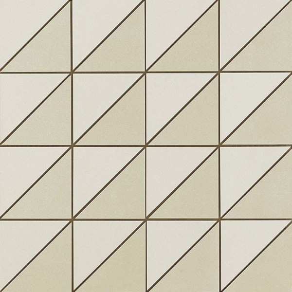 Mosaik Triangle Hellgrau 30,5x30,5cm
