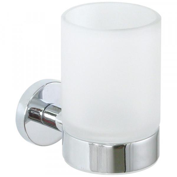 Glashalter zum kleben oder schrauben