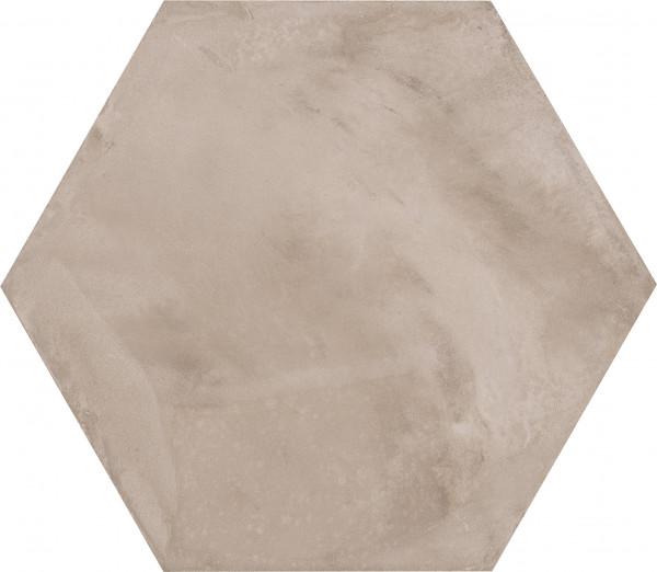 Terra Grigio Sechseck 25x21,6cm