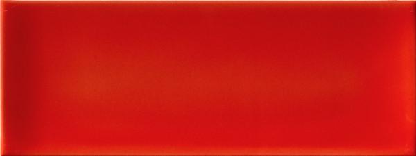 Wandfliese Rot 12,5x33,3cm