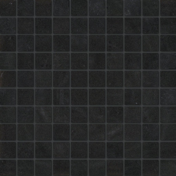Steinoptik Mosaik Schwarz 30x30cm