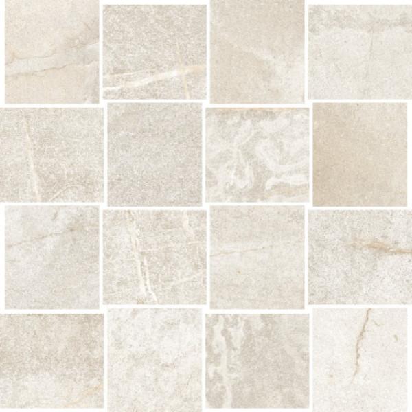 Steinoptik Stonewhite Mosaik 30x30cm